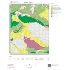 K52d1 Paftası 1/25.000 Ölçekli Vektör Jeoloji Haritası