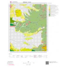 K52d2 Paftası 1/25.000 Ölçekli Vektör Jeoloji Haritası