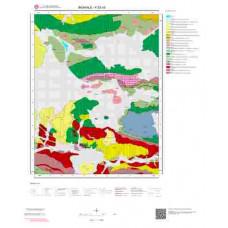 K52d3 Paftası 1/25.000 Ölçekli Vektör Jeoloji Haritası