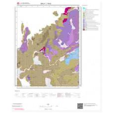 L16b3 Paftası 1/25.000 Ölçekli Vektör Jeoloji Haritası