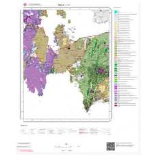 L 17 Paftası 1/100.000 ölçekli Jeoloji Haritası