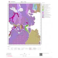 L17a1 Paftası 1/25.000 Ölçekli Vektör Jeoloji Haritası