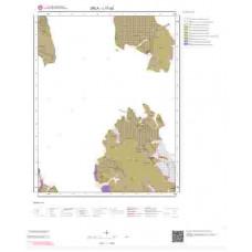 L17a2 Paftası 1/25.000 Ölçekli Vektör Jeoloji Haritası