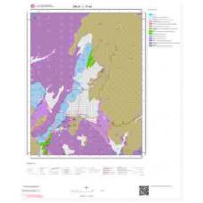 L17a4 Paftası 1/25.000 Ölçekli Vektör Jeoloji Haritası
