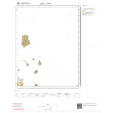 L17b1 Paftası 1/25.000 Ölçekli Vektör Jeoloji Haritası