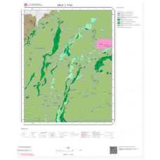 L17b3 Paftası 1/25.000 Ölçekli Vektör Jeoloji Haritası