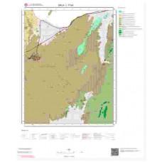 L17b4 Paftası 1/25.000 Ölçekli Vektör Jeoloji Haritası