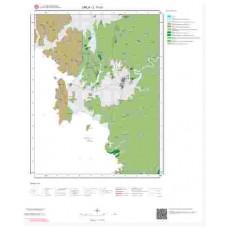 L17c1 Paftası 1/25.000 Ölçekli Vektör Jeoloji Haritası