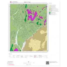 L17c2 Paftası 1/25.000 Ölçekli Vektör Jeoloji Haritası