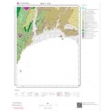 L17c3 Paftası 1/25.000 Ölçekli Vektör Jeoloji Haritası