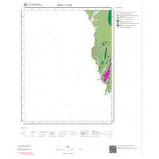L17c4 Paftası 1/25.000 Ölçekli Vektör Jeoloji Haritası