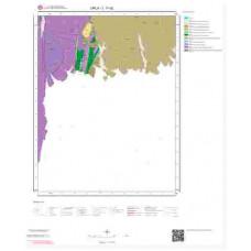 L17d2 Paftası 1/25.000 Ölçekli Vektör Jeoloji Haritası