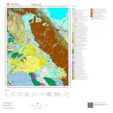L26 Paftası 1/100.000 Ölçekli Vektör Jeoloji Haritası