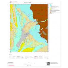 L26a3 Paftası 1/25.000 Ölçekli Vektör Jeoloji Haritası