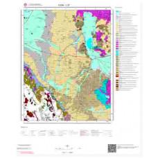 L27 Paftası 1/100.000 Ölçekli Vektör Jeoloji Haritası