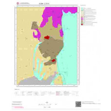 L27b1 Paftası 1/25.000 Ölçekli Vektör Jeoloji Haritası