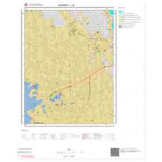 L 30 Paftası 1/100.000 ölçekli Jeoloji Haritası