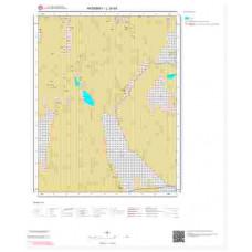 L30b3 Paftası 1/25.000 Ölçekli Vektör Jeoloji Haritası