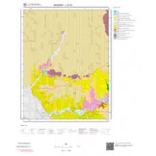 L 32-a1 Paftası 1/25.000 ölçekli Jeoloji Haritası