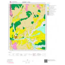 L 32-a2 Paftası 1/25.000 ölçekli Jeoloji Haritası