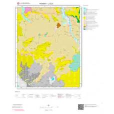 L 32-a3 Paftası 1/25.000 ölçekli Jeoloji Haritası