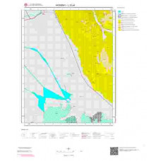 L 32-a4 Paftası 1/25.000 ölçekli Jeoloji Haritası