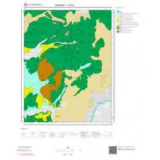 L 32-b1 Paftası 1/25.000 ölçekli Jeoloji Haritası