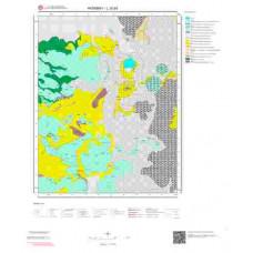 L 32-b3 Paftası 1/25.000 ölçekli Jeoloji Haritası