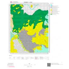 L 32-b4 Paftası 1/25.000 ölçekli Jeoloji Haritası