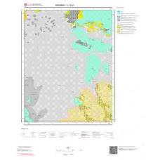 L 32-c1 Paftası 1/25.000 ölçekli Jeoloji Haritası