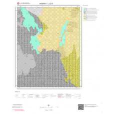 L32c4 Paftası 1/25.000 Ölçekli Vektör Jeoloji Haritası