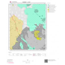 L32d1 Paftası 1/25.000 Ölçekli Vektör Jeoloji Haritası