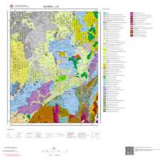 L 35 Paftası 1/100.000 ölçekli Jeoloji Haritası