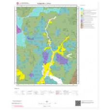 L 37-d1 Paftası 1/25.000 ölçekli Jeoloji Haritası