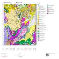 L 39 Paftası 1/100.000 ölçekli Jeoloji Haritası