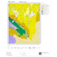 L39a1 Paftası 1/25.000 Ölçekli Vektör Jeoloji Haritası