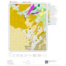 L39a2 Paftası 1/25.000 Ölçekli Vektör Jeoloji Haritası