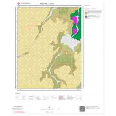 L39a3 Paftası 1/25.000 Ölçekli Vektör Jeoloji Haritası