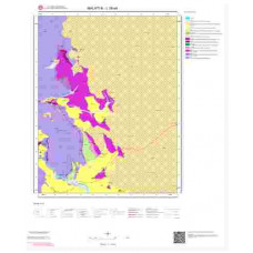 L 39-a4 Paftası 1/25.000 ölçekli Jeoloji Haritası
