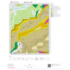 L39b1 Paftası 1/25.000 Ölçekli Vektör Jeoloji Haritası