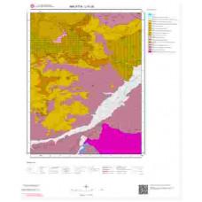 L41d2 Paftası 1/25.000 Ölçekli Vektör Jeoloji Haritası
