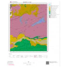 L41d4 Paftası 1/25.000 Ölçekli Vektör Jeoloji Haritası