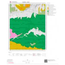 L42a1 Paftası 1/25.000 Ölçekli Vektör Jeoloji Haritası