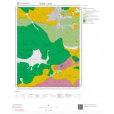 L42a2 Paftası 1/25.000 Ölçekli Vektör Jeoloji Haritası