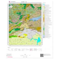 L 43 Paftası 1/100.000 ölçekli Jeoloji Haritası