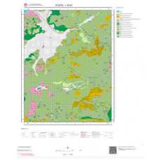 L43a1 Paftası 1/25.000 Ölçekli Vektör Jeoloji Haritası