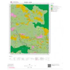 L43a2 Paftası 1/25.000 Ölçekli Vektör Jeoloji Haritası