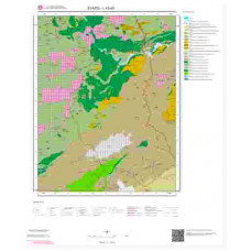 L43a3 Paftası 1/25.000 Ölçekli Vektör Jeoloji Haritası