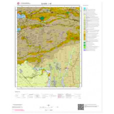 L 44 Paftası 1/100.000 ölçekli Jeoloji Haritası