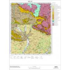 L 46 Paftası 1/100.000 ölçekli Jeoloji Haritası